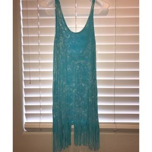 Beach cover up dress. NEW